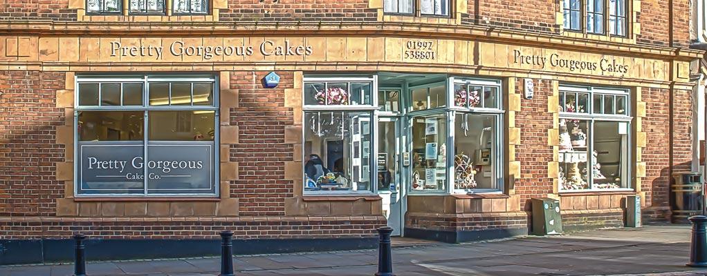 Pretty Gorgeous Cake Company Shop Hertford