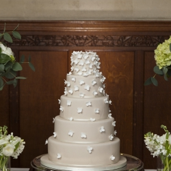 Five tier cake, detail, wedding cake