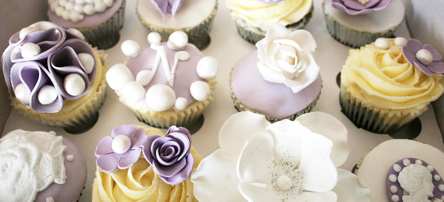 Cup Cakes Banner
