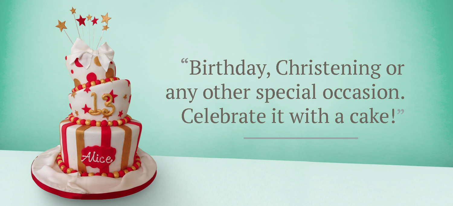 Party Cake Banner