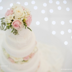 wedding cake, detail, flowers, white, pastel pink