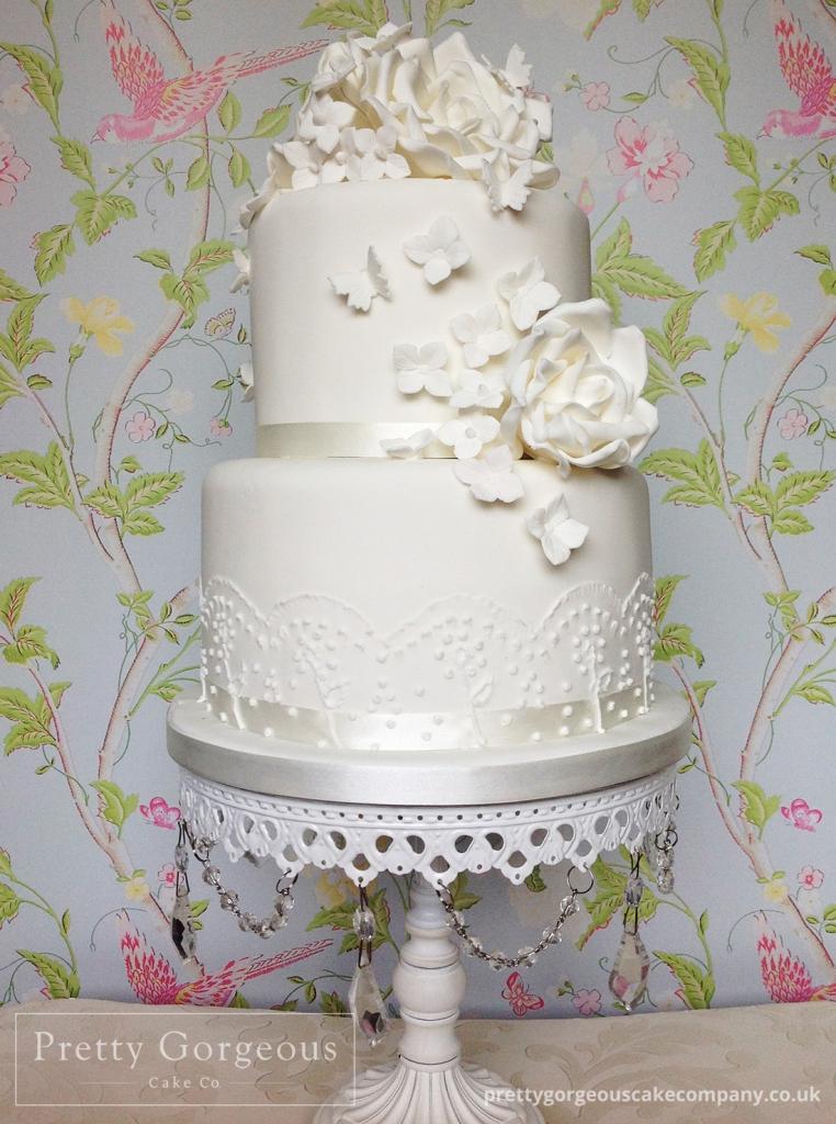 wedding cakes pretty gorgeous cake company. Black Bedroom Furniture Sets. Home Design Ideas