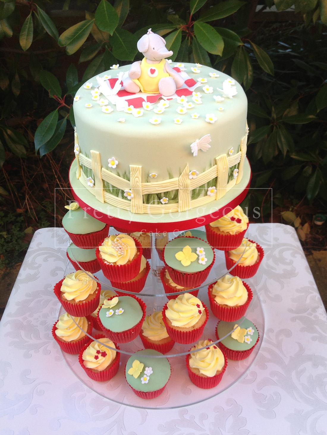 Elephants Party Cake