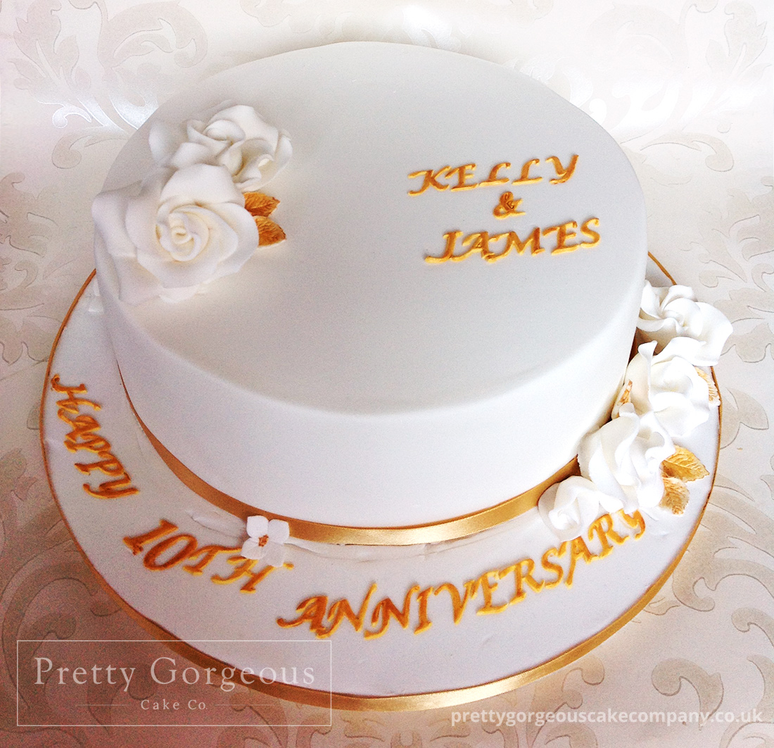 Ideas For Th Anniversary Cake