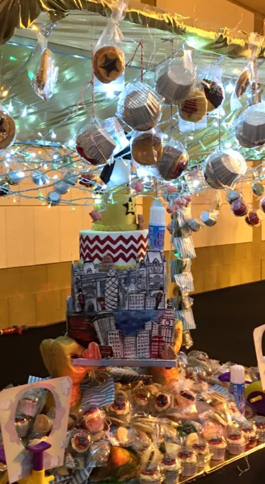 2016 BRITs cake display