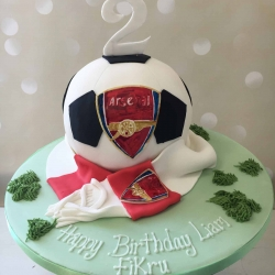 arsenal-football-cake
