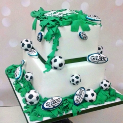 Gilbert Rugby Cake