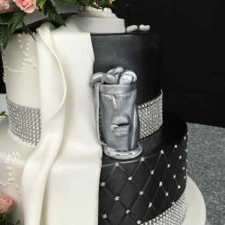 Golf Bag Detail Cake