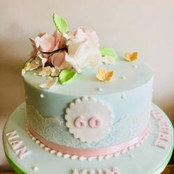 Happy 60th Cake
