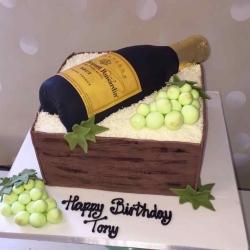 Tony Champagne Cake