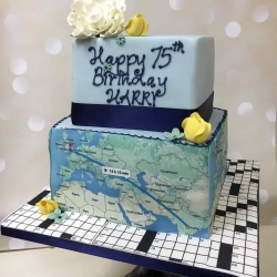 Harry's Map Cake