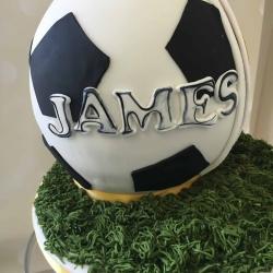 James Football Cake