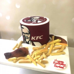 KFC Chicken Cake