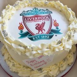 Liverpool FC Cake