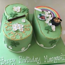 Margaret Rainbow Cake