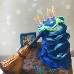 Melting Broom Cake