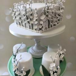 Petal Flowers Cake