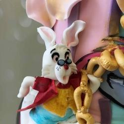 Rabbit Alice Wonderland Cake
