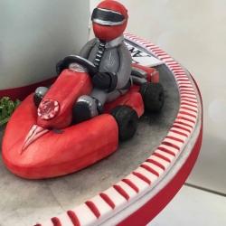 Race Car Driver Cake