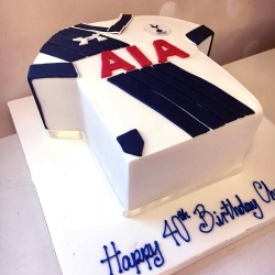 Tottenham Spurs Cake