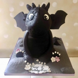 train-dragon-birthday-cake
