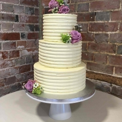 Cream Cake Ribbed