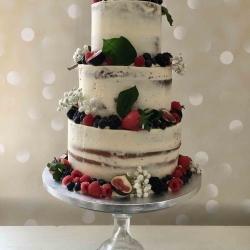 Naked Cherry Cake